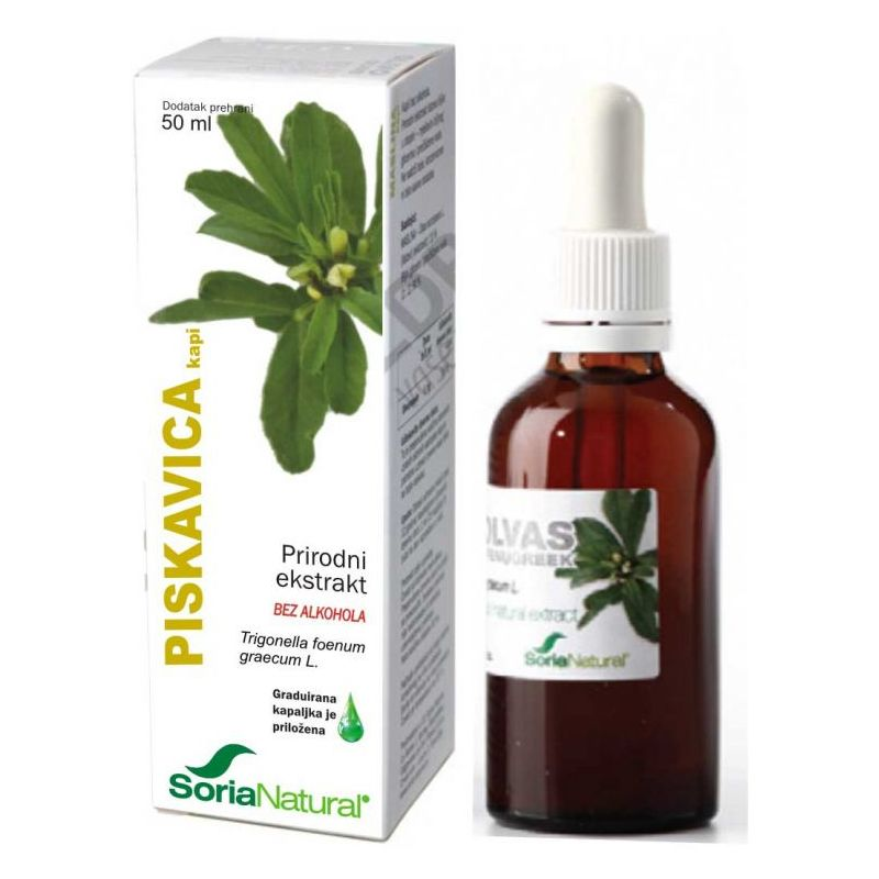 Piskavica kapi 50 ml Soria Natural Cijena
