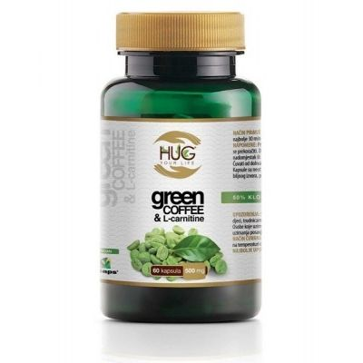 GREEN COFFEE I L-CARNITINE 60*500MG