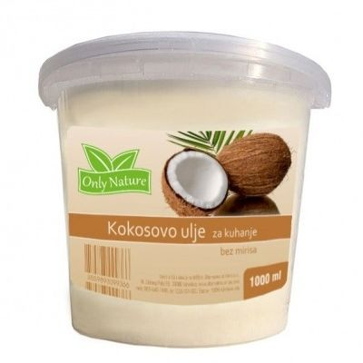 KOKOS BEZ MIRISA ZA KUHANJE 1000ML ONLY NATURE