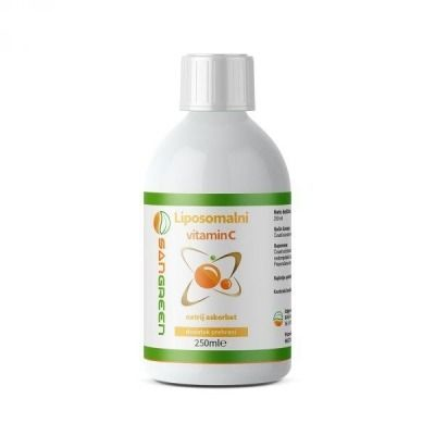LIPOSOMALNI VITAMIN C 250ML SANGREEN