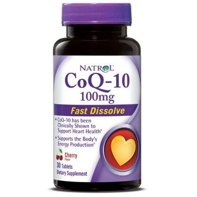 NATROL COQ10 100MG 30CAPS