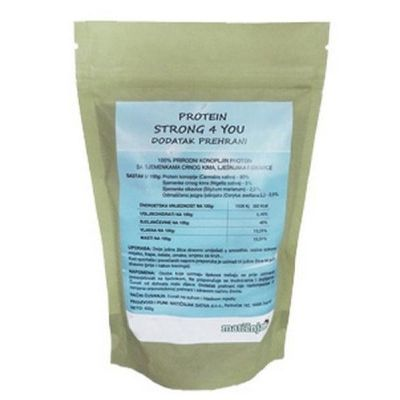 STRONG 4 YOU PROTEINI 400 G MATIČNJAK