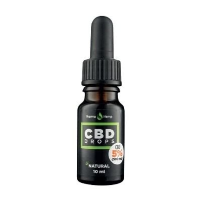 CBD kapi 5%, 10ml Pharma Hemp