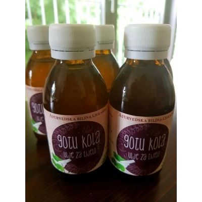 GOTU KOLA ULJE 125 ML AYUGARDEN