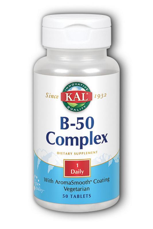 VITAMIN B 50 COMPLEX KAL