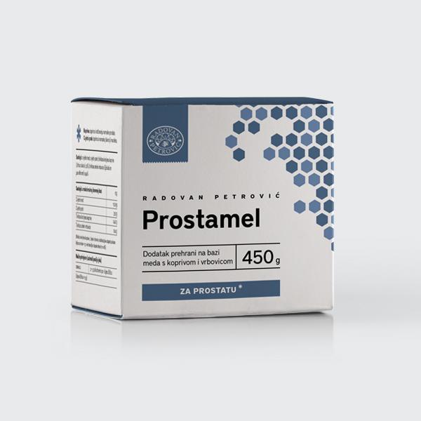 Prostamel – Med s koprivom i vrbovicom za prostatu 450g