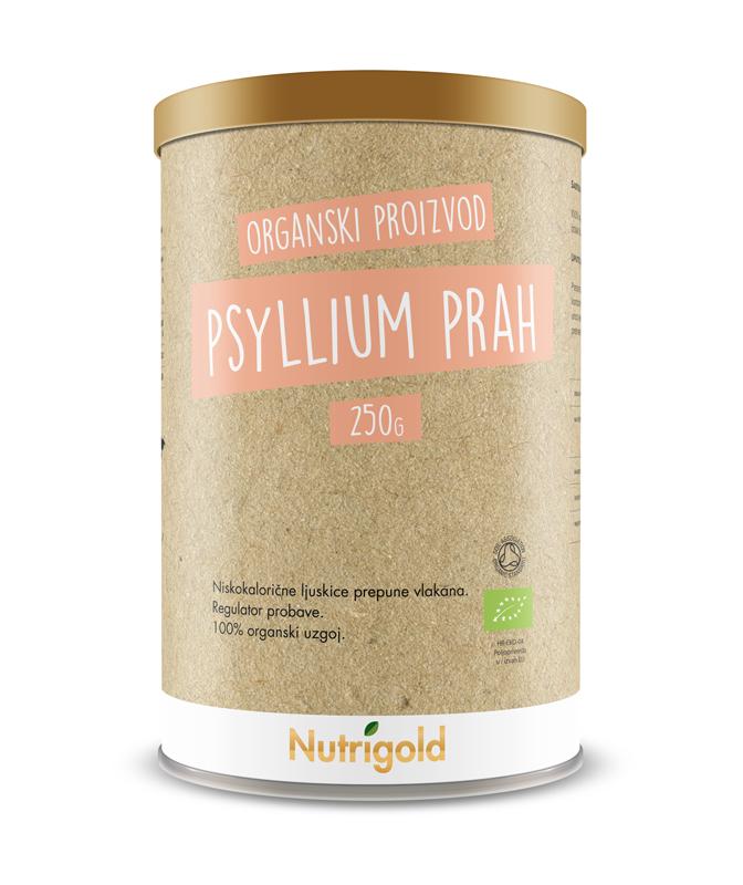 PSYLLIUM PRAH (PSILIUM) BIO 250G NUTRIGOLD