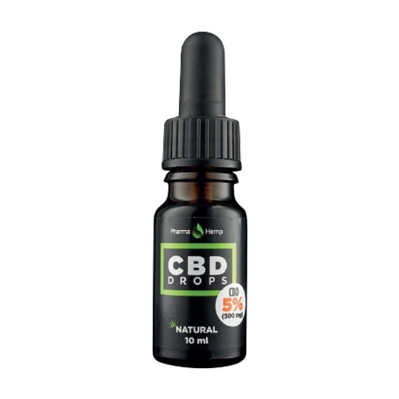 CBD kapi 5%, 10ml Pharma Hemp