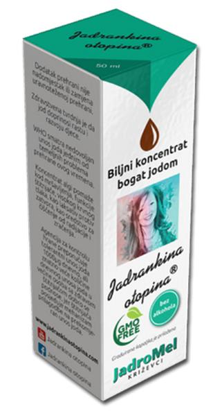 Jadrankina otopina 50 ml Jadromel