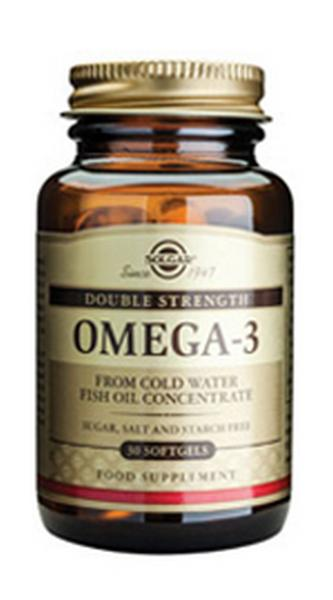 Omega 3 Double Strength 30caps Solgar