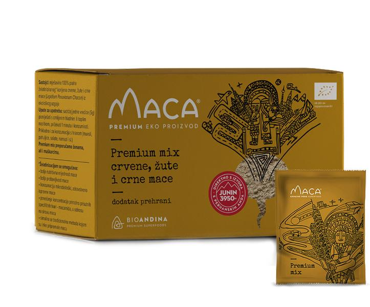 MACA MIX PREMIUM 150G (30X5G) BIOANDINA