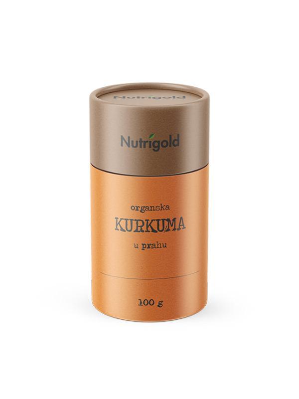 KURKUMA U PRAHU ORGANSKA 100G NUTRIGOLD