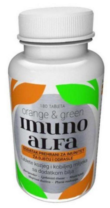 Imunoalfa 180 tableta
