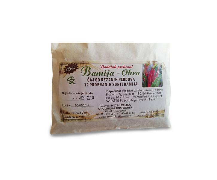 Za čvrstoću kose - Čaj od Bamije