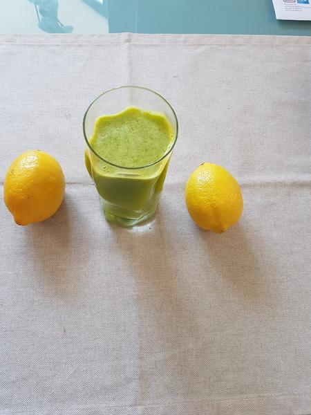 Zeleni smuti za prehladu