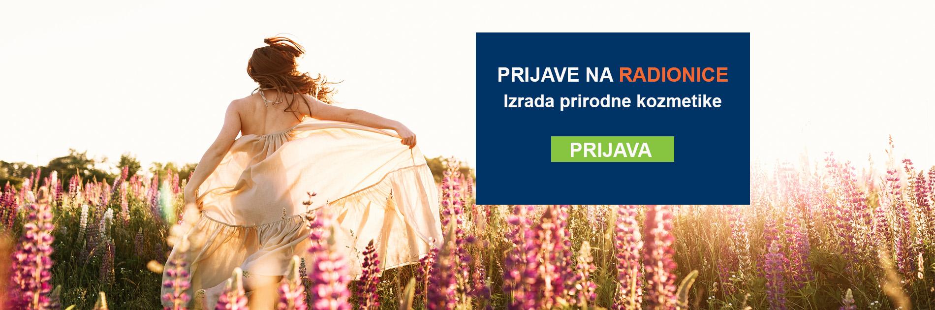 PRIJAVE NA RADIONICE - Izrada prirodne kozmetike